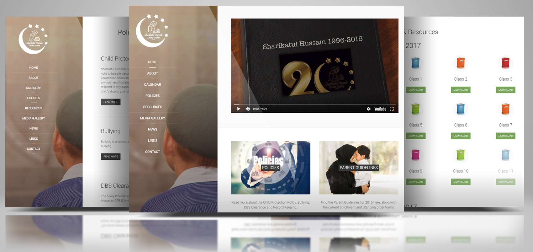 Sharikatul Hussain Saturday School Website
