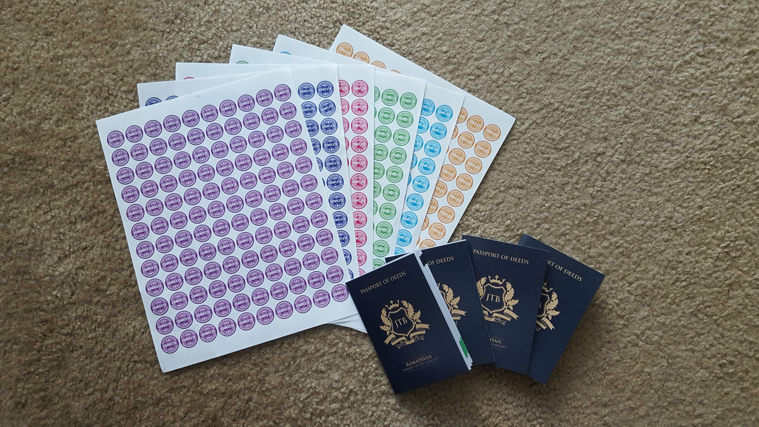 Children's Activity Passport